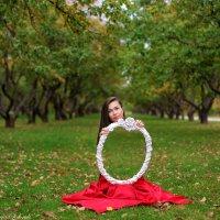 Девушка с зеркалом :: Анастасия Сидорук