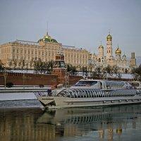 Москва - река ..Кремль :: Viacheslav Birukov
