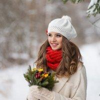 Девушка с оригинальным букетиком :: Konstantin Morozov