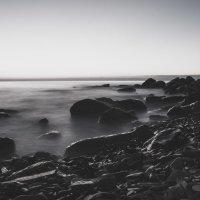 Вечерний морской пейзаж :: Сергей Кишкель