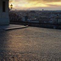 Январский рассвет над Прагой :: Татьяна [Sumtime]