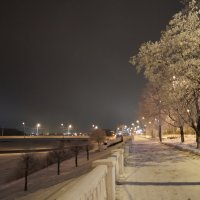 зимняя набережная :: Ольга Васильева