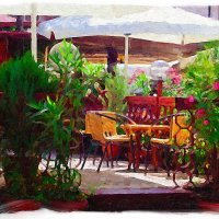 Летнее кафе :: Фотохудожник Наталья Смирнова