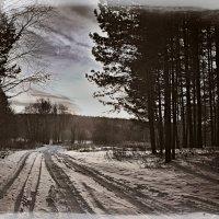 Зимний пейзаж :: Борис Соловьев