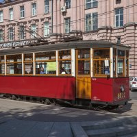 Санкт-Петербург. Трамвайный вагон МСО-4 №2575. По Кронверкскому проспекту :: Алексей Шаповалов Стерх
