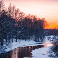 На закате :: Елена Решетникова