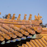 Крыша китайской хижины :: Сергей Мольков