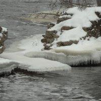 река Луга, январь.. :: Михаил Жуковский