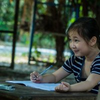 Вьетнам. Маленькая ученица. :: Алёна Лепёшкина