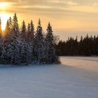 зимний пейзаж :: Александр Шипов