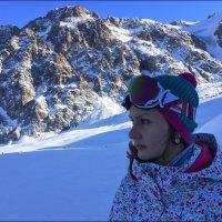 Сноубордистка. :: Anna Gornostayeva
