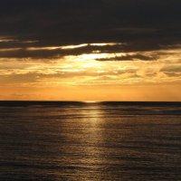 Атлантический закат :: Елена Шемякина