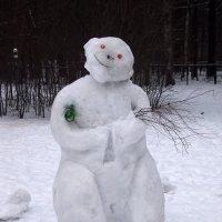 Снежный человек ). :: сергей лебедев