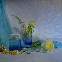 Бело-голубой :: Наталия Лыкова