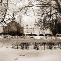 Зима на Ярославовом дворище. ВН :: Евгений Никифоров