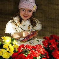 Маленькая художница :: Ната Коротченко