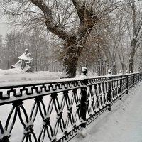 Зима пришла в Москву :: Борис Соловьев