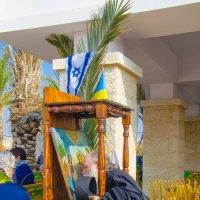 ...Под флагами Израиля и Украины :: Тарас Леонидов