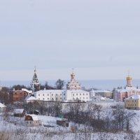 Иоанно-Богословский монастырь с. Пощупово Рязанской области (зима) :: Инна *