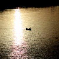 Морская рыбалка на зорьке :: Натали Акшинцева