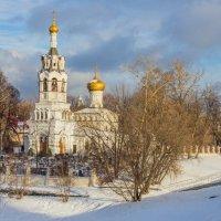 Ильинская церковь в Черкизово2 :: Дмитрий Сушкин