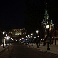 Вдоль кремлевской стены и ночь сменила день :: Олег Лукьянов