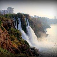 Водопад на рассвете :: Натали Акшинцева