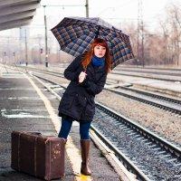 В ожидании поезда :: Михаил Бродский