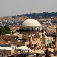 Белый купол синагоги :: Александра