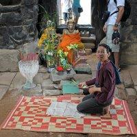 Камбоджа. Храмовый комплекс Ангкор-Ват. Святилище на вершине храма :: Владимир Шибинский