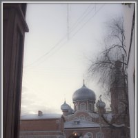 30 утро января 2015 , церковь :: Алексей Медведев