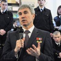 Космонавт рассказывает о полётах :: Дмитрий Ерохин