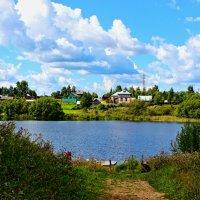 Деревня на холме :: Сергей Голубцов