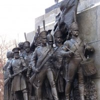 Фрагмент постамента памятника Кутузову  в Москве :: Galina Leskova