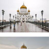 Дорога к Храму (утро - вечер) :: Ирина Шарапова