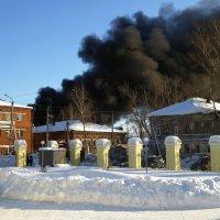 Пожар :: Алексей Golovchenko