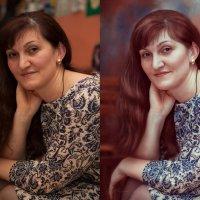Женскиу портрет. Худ.обработка :: Ирина Kачевская