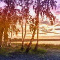 Рассвет жаркого летнего дня :: Андрей Хлопин