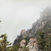 Развалины замка Буффавенто, спрятавшиеся в облаках :: Anna Lipatova