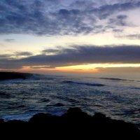 Атлантический закат. :: Елена Шемякина