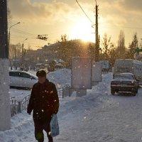 Зимний закат :: Максим Горбунов