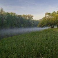 Туман на реке Псел :: Сергей Корнев