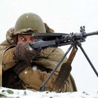 Пулемётчик :: Михаил Бибичков