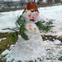 Обиделся на зиму... :: Александр Резуненко