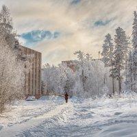 Замерзший город :: vladimir Bormotov
