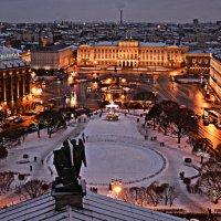 Вид с колоннады Исаакиевского собора :: Илья Матвеев