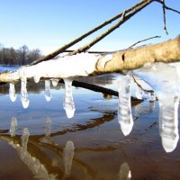 Замёрзшие капельки :: Андрей Снегерёв