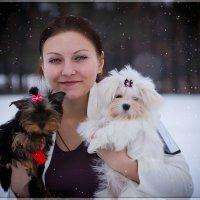 Зимняя Наташка!!! :: Anna Dyatchina