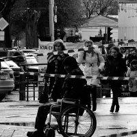 Инвалид и шуба :: Николай Филоненко