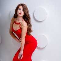 Lady in red :: Катерина Морозова